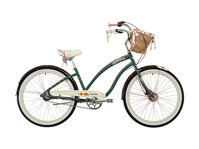 Electra Gypsy 3i Citybike petroleumsgrøn